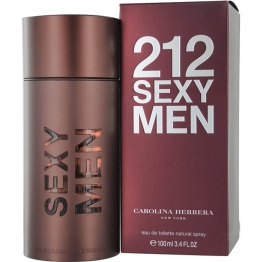 Carolina Herrera 212 Sexy for Men Eau De Toilette 100 ml