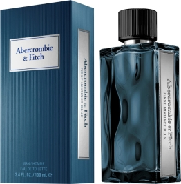Abercrombie & Fitch First Instict Blue Eau De Toilette  100ml